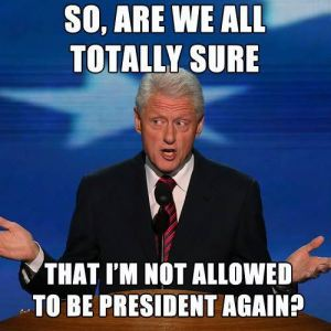 Bill Clinton meme