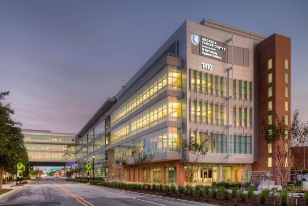 M. Bert Storey Research Building on the Health Sciences Campus of Augusta University